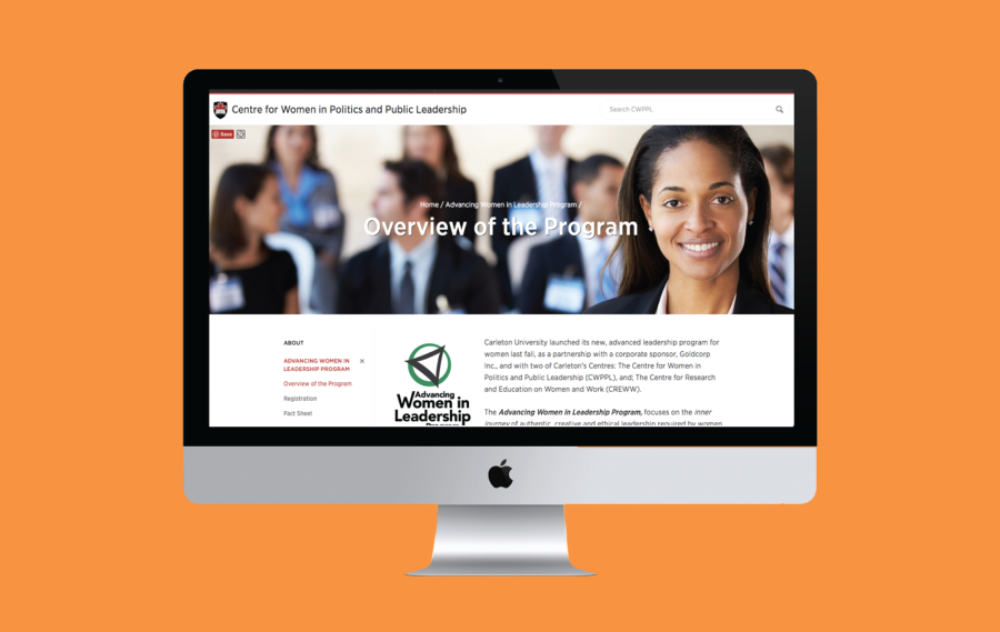 Centre for Women in Politics | Branding, Events & Project Management